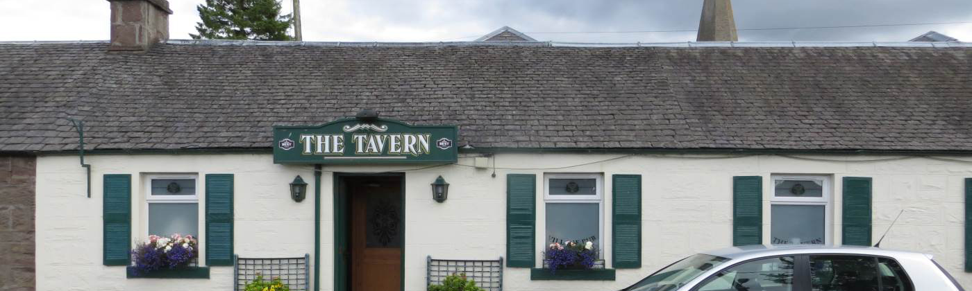 The Ardler Tavern Front Entrance