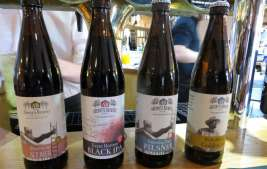 Local Ales from the Abernyte Brewery